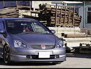 Justins Supercharged Civic EP3